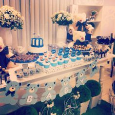 Festa ursinho - baby shower/birthday