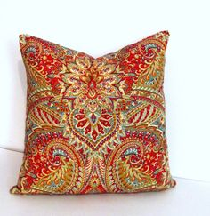 Autumn Colors DECORATIVE PILLOW Cover Accent by supplierofdreams