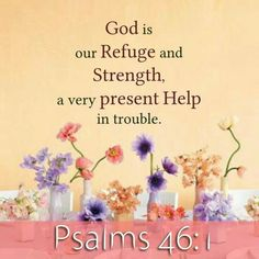 A Very Present HELP In Times Of Trouble......