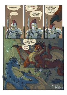 Mythological Creatures, Fantasy Creatures, Mythical Creatures, Dragon Chess, Dragon Art, Dnd Funny, Funny Cute, Hilarious, Cute Comics