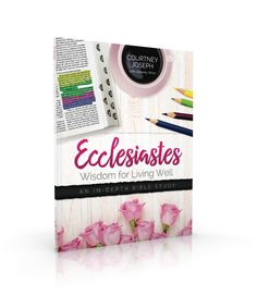 Time. We all try to manage it. We all tend to lose track of it. We all have the same amount of it. And we all can't control it. Today in our video, I'm sharing the 4 P's of Time Management from Ecclesiastes chapter 3. So open your Bibles with me and turn to page 131 in your workbooks and join me for the next 8 minutes as I tackle the HUGE topic of time management and simplify it according to God's Word. {if you are reading this in an email or feed – click here to view the video} …