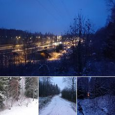 Eilen illalla laskeutui lumi vihdoin kotiin Kuopioon. Tänään sitä on jo kivasti ja lisää tulee. #kotonakuopiossa #firstsnow