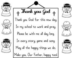 A SCHOOL PRAYER (for kids)