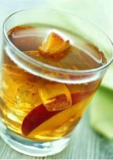 Thé glacé aux fruits