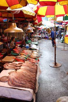 Busan fish market - South Korea