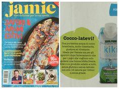 Jamie Oliver magazine (Italy) featuring KiKi acqua di cocco