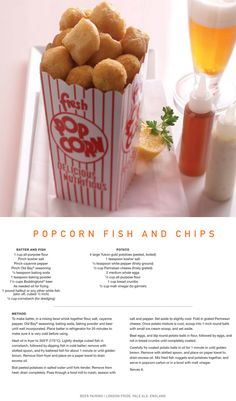 Celebrity Popcorn fish from Quisine onboard Celebrity Solstice Class ships (works great with shrimp as well)