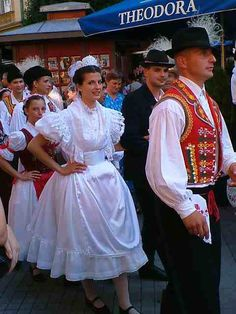 Traditional Hungarian Wedding Traditional Wedding Attire, Traditional Weddings, Traditional Outfits, Beautiful Wedding Gowns, Wedding Dresses, Southern Weddings, Folk Costume, Budapest Hungary, My Heritage