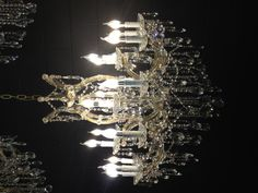 Beauty the beast like :) We are putting a chandelier in our dining room