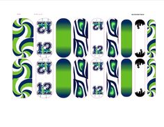 Custom Seahawks inspired wraps. GO SEAHAWKS!!