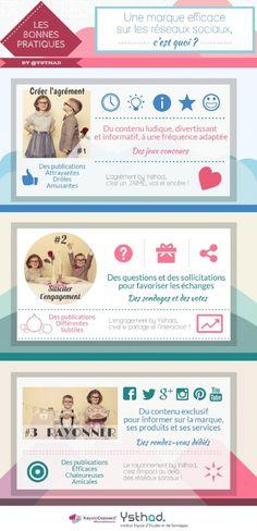 Infographie | 3 clés pour être efficace sur les réseaux sociaux