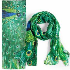 Peacock Scarf   Check out our NEW SCARVES!  www.femailcreatio... #UniqueGifts #GiftsForWomen #Gifts #GiftsForAllOccassion #InspirationalGifts #Tribe #Sassy #Girlfriends #Sisterhood #Scarf #Scarves