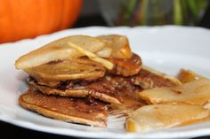 Pumpkin Quinoa Chocolate Chip Pancakes