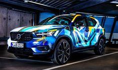 "René Turrek besprüht einen Volvo XC40 in pulsierenden ""Swedish Colors"" - KlonBlog"