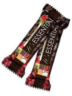 The new It's Essential weight loss energy bar pairs delicious flavor with powerful ancient grains to supercharge your weight loss results! Its dark chocolate raspberry taste is truly a flavor to crave, and the addition of a new, cutting-edge ingredient, SolaGrain, packs It's Essential with dietary fiber to promote digestive health.