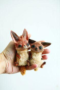 foxes   by oso_polar