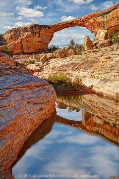Natural Bridges National Monument . Utah