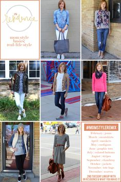 in residence: mom style basics + new linkup announcement
