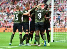 Everton Don Green Kits In 3-0 Win Over Southampton