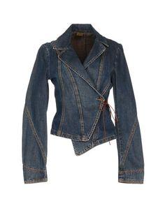 Plein sud jeans Women - Denim - Denim outerwear Plein sud jeans on YOOX