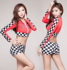 Back To Search Resultsnovelty & Special Use Djgrster Sexy High School Cheerleader Costume Girl Aerobics Dance Cheer Girls Race Car Driver Uniform Party Tops And Shorts Cool In Summer And Warm In Winter