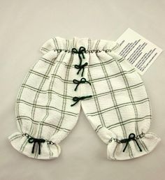 Dishcloth Kitchen Britches-White and Green  Dont lose your britches | MakinsByJBH - Housewares on ArtFire