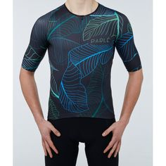 https://parle.cc/en/jerseys/20-dark-jungle-jersey.html Parlé Cycling. Dark Jungle Jersey. The jersey is designed to achieve the highest aerodynamics and least weight. The low standup collar is an alternative for people who value traditional cycling solutions. The truncated, elongated sleeves adhere perfectly to the body. The bottom of the jersey was trimmed by a thin silicone, keeping it in comfortable position. Application of a zippered pocket increases its practicalness and functionality.