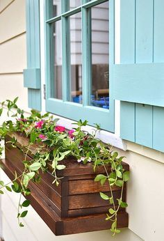 window box planters, container gardening, flowers, gardening, how to, outdoor living, woodworking projects