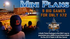 Looking for the perfect holiday gift for the baseball fan in your life? Bulls 9-Game Mini Plans provide a full summer of family fun without breaking your bank. Plus, it's the only way to guarantee the ability to purchase tickets to the 2014 Triple-A All-Star Game!