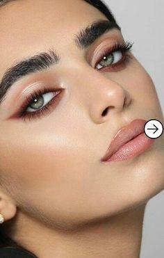 Make Up; Look; Make Up Looks; Make Up Augen; Make Up Prom;Make Up Face; Eyeliner Make-up, Mascara, Simple Eyeliner, Simple Eye Makeup, Neutral Makeup, Eyeshadow Makeup, Natural Eyeliner, Makeup Monolid, Eyeliner Ideas