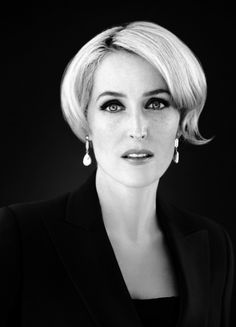 Gillian Anderson photographed by Alex Martinez.