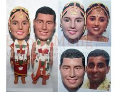 Indian Wedding Cake Toppers - Head To Toe custom Indian Wedding Cakes, Personalized Wedding Cake Toppers, Head To Toe, Wedding Planning, Trending Outfits, Handmade Gifts, Eat, Vintage, Fashion