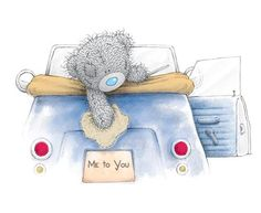I like driving in my car. Teddy Bear Images, Teddy Pictures, Funny Animal Pictures, Cute Pictures, Tatty Teddy, Blue Nose Friends, Love Bear, Cute Teddy Bears, Bear Art