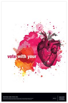 Get out the Vote by Karen Kurycki, via Behance
