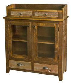 Amish Jefferson Rustic Sideboard | Amish Sideboards | Amish Dining Room Furniture 45543