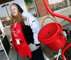"""Gay groups boycott Salvation Army red kettle drive - U.S. News. """"Of all the very many, often bizarre, prohibitions in Leviticus, the Salvation Army choses to single out and promote the few prohibitions against gays, which suggests to us that it is bigotry, not literal Bible belief, that motivates their actions."""""""