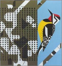 Charley Harper - Savoring Sycamore   1972