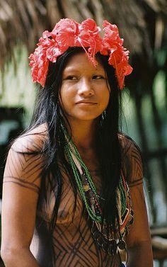 Embera girl Panama