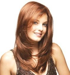 Straight Long Classy Synthetic Wigs