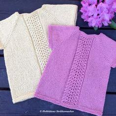 Under 6 år – Side 4 – Ellen Larsen Design Baby Vest, Baby Born, Baby Knitting, Girls Dresses, Crochet, Sweaters, Tops, Design, Fashion