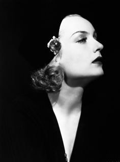 Carole Lombard trying to do dramatic - except she's not Marlene Dietrich.