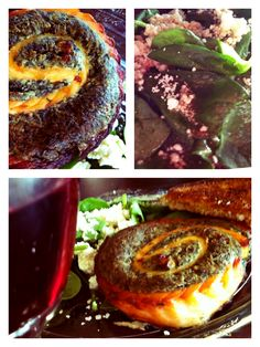 Pierfish salmon pinwheel with spinach feta things i want to spinach salmon pinwheel ccuart Image collections