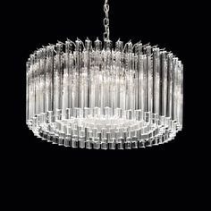 Toto' Murano Prism Chandelier