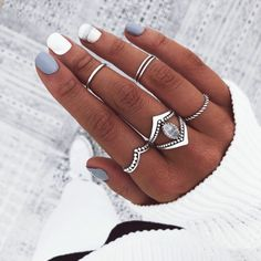 Trendy Nail Colors That Women Can't Miss – Page 47 of 99 – CoCohots – Uñas Coffing Maquillaje Peinados Tutoriales de cabello Red Nails, Hair And Nails, Cute Nails, Pretty Nails, Summer Acrylic Nails, Chrome Nails, Beautiful Nail Designs, Cute Jewelry, How To Do Nails