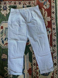 Capsule WHITE Linen Blend Slouch Trousers Plus size 28 30 32