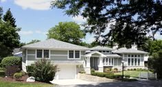 Arts and Crafts Clarendon Hills Remodel & Addition - traditional - exterior - chicago - by Normandy Remodeling