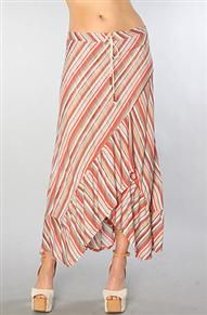 QSW Collection - Painted Stripe SKirt  awesome fabric $78 #Quicksilver #bonnieandclydeonline.com