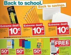 School Supply Sale at Staples for Week of July 17, 2011