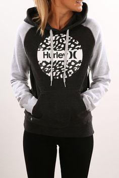 Contrast Krush Pop Fleece Dark Heather Grey