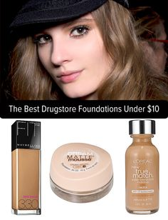 Who said foundations had to be a splurge? We've got 10 we love under $10!